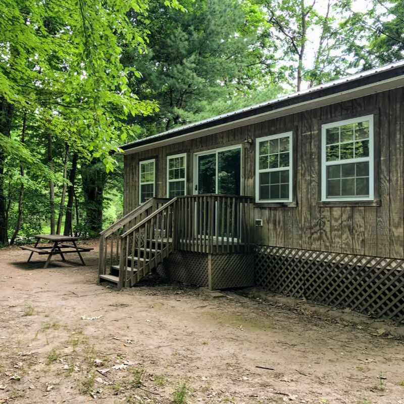 river front camping cabin glamping upstate new york getaway